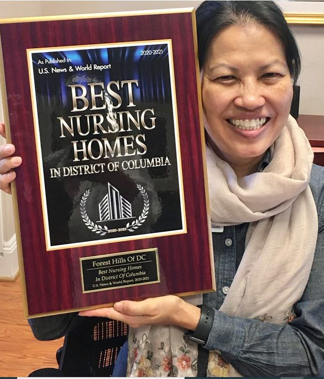 """""""We are what we repeatedly do. Excellence, then, is not an act, but a habit."""" -Aristotle. #Grateful to be recognized and published in the national US News and World Report in the category of Best Nursing Homes. Our top tier team produces top tier results not as an act, but a habit! This award is all the more meaningful to our team in light of our extra workloads due to Covid-19!"""